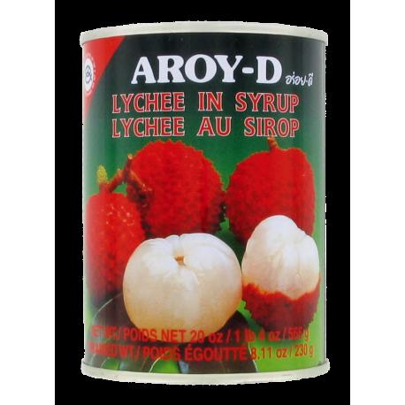 Litchi au Sirop Aroy-D 565g
