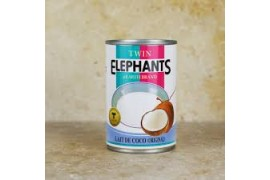 Lait de Coco Twin Elephants 400ml