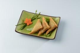 Samoussa aux légumes (4 pièces)