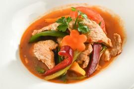 Porc à la sauce aigre-douce (200g)
