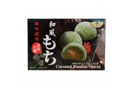 Mochi aux Noix de Coco Pandan (Boite de 6 pièces)