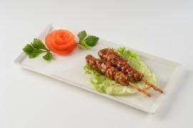 Brochette de poulet à la sauce de soja (4 pièces)