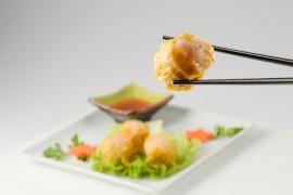 Bouchée aux crevettes (4 pièces)
