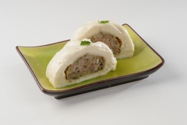 Bánh Bao (pain de mie farci à la vapeur) (pièce)