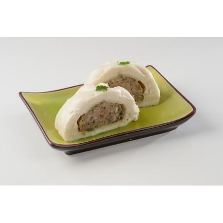 Ban Bàoh (pain de mie farci à la vapeur)