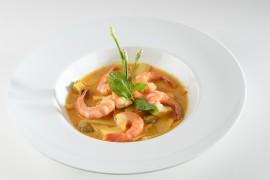 Crevettes au curry (200g)