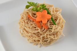 Nouilles sautées aux légumes (portion de 200g)