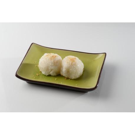 Perles de coco (2 pièces)